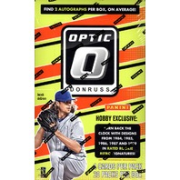 2016 Panini Donruss Optic Baseball Hobby Box Plus 2 Black Friday Pack Today Only