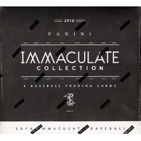 2016 Panini Immaculate Baseball Hobby Box/Pack (Sealed) +4 Black Friday Packs