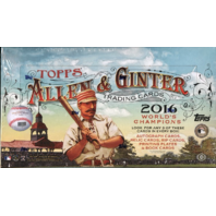 2016 Topps Allen & Ginter Baseball Hobby 12 Box Case (Sealed) (A&G)