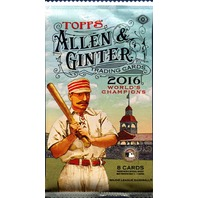 2016 Topps Allen & Ginter Baseball Hobby Pack (Sealed) (A&G)