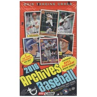 2016 Topps Archives Baseball Hobby 24 Pack Box (Sealed) Kevin Costner