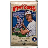 2016 Topps Gypsy Queen Baseball Hobby 10 Card Pack (Sealed) (Random)