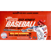 2016 Topps Heritage High Number Edition Baseball Hobby 12 Box Case (Sealed)