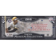 2016 Topps Museum Collection Baseball Hobby Box (Sealed)