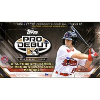 2016 Topps Pro Debut Baseball Hobby 24 Pack Box (Sealed)