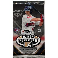 2016 Topps Pro Debut Baseball Hobby 8 Card Pack (Sealed) (Random)