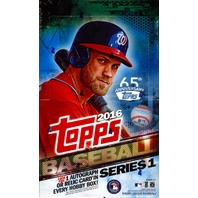 2016 Topps Series 1 Baseball Hobby 36 Pack Box (Sealed)