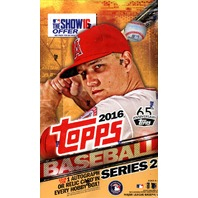 2016 Topps Series 2 Baseball 12 Hobby Box Case (Sealed)