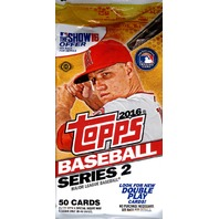 2016 Topps Series 2 Baseball HTA Jumbo Hobby 50 Card Pack (Sealed) (Random)