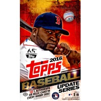 2016 Topps Update Series 3 Baseball Hobby 36 Pack Box (Sealed)