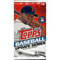 2016 Topps Update Series 3 Baseball Hobby 10 Card Pack (Sealed) (Random)