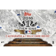 2016 Topps Tier One Baseball Hobby 12 Box Case (Sealed) Kenta Maeda?