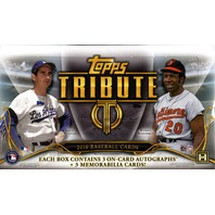 2016 Topps Tribute Baseball Hobby 8 Box Master Case (Sealed)