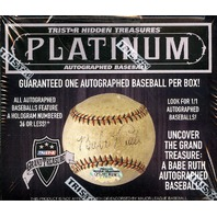 2016 Tristar Hidden Treasures Platinum Edition Auto Hobby Sealed 1 Baseball Box