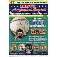 2016 Tristar Hidden Treasures Series 8 Autograph 1 Baseball Pack/Box (Sealed)