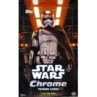 2016 Topps Star Wars Chrome: The Force Awakens 24 Pack Hobby Box (Sealed)
