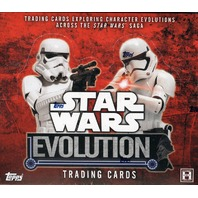 2016 Topps Star Wars Evolution Hobby 12 Box Case (Sealed)