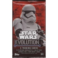 2016 Topps Star Wars Evolution 8 Card Hobby Pack (Sealed)