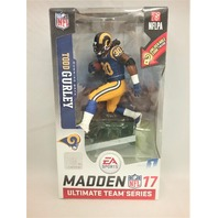 2016 Todd Gurley NFLPA Madden McFarlane's Sportspicks Figure Series 1 Ultimate Team Series St. Louis Rams Los Angeles LA Rams