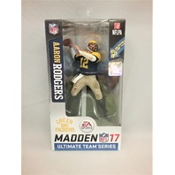2016 Aaron Rodgers Madden McFarlane Ultimate Figure Series 2 Green Bay Packers