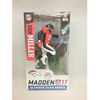 2016 Von Miller NFLPA Madden McFarlane's Sportspicks Figure Series 2 Ultimate Team Series Denver Broncos