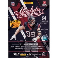 2016 Panini Absolute Football Blaster Box (Sealed)