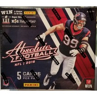 2016 Panini Absolute Football 5 Card Hobby Pack (Sealed) (Random) (Mini Box)