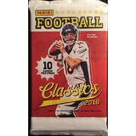 2016 Panini Donruss Classics Football 10 Card Hobby Pack (Sealed)