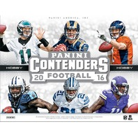 2016 Panini Contenders Football Hobby 12 Box Case (Sealed)