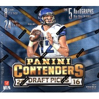 2016 Panini Contenders Draft Picks Football 24 Pack Hobby Box (Sealed)