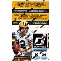 2016 Panini Donruss Football Hobby 24 Pack Box (Sealed)