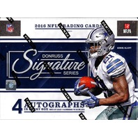 2016 Panini Donruss Signature Series Football 4 Card Hobby Box/Pack (Sealed)