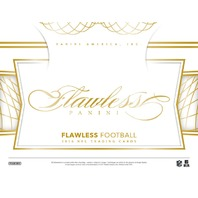 2016 Panini Flawless Football Hobby 2 Box Case (Factory Sealed)