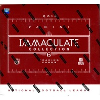 2016 Panini Immaculate Football Hobby 6 Box Case (Sealed)