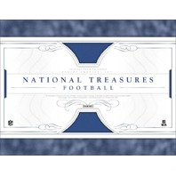 2016 Panini National Treasures Football 4 Hobby Box Case (Factory Sealed)