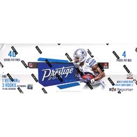 2016 Panini Prestige Football Hobby 4 Pack Box (Sealed)