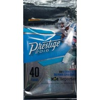 2016 Panini Prestige Football Hobby 40 Card Pack (Sealed)