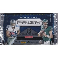 2016 Panini Prizm Football Jumbo Hobby 12 Card Pack (Sealed) (Random)