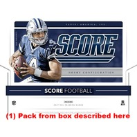2017 Panini Score Football Jumbo Hobby 40 Card Pack (Factory Sealed)(Random)