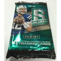 2016 Panini Spectra Football 4 Card Hobby Pack (Sealed) (Random)