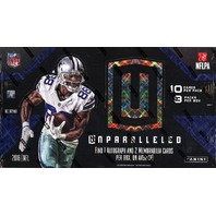 2016 Panini Unparalleled Football Hobby 16 Box Case (Sealed)
