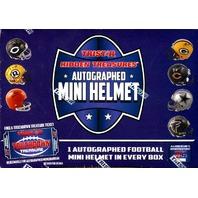 2016 Tristar Hidden Treasures Football Autograph Mini Helmet Series 2 Box Sealed