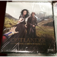 OUTLANDER Season 1 Trading Card 2nd Edition Album BINDER Sealed w/Exclusive Card