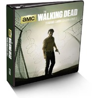 The Walking Dead Season 4 Part 2 Binder w/Metal Card +10 Pages Cryptozoic Sealed