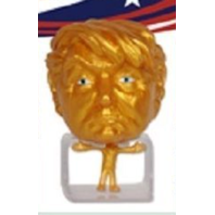 Donald Trump Gold SqueezeEz Mega Head Collectible Stress Squeeze Ball Rare 1:24
