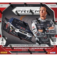 2016 Panini Prizm NASCAR Auto Racing 12 Hobby Box Case (Sealed)