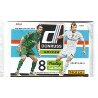 2016 Panini Donruss Soccer 8 Card Hobby Pack (Sealed) (Futbal)