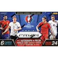 2016 Panini UEFA Euro Prizm Soccer (Futbal) Hobby Box (Sealed)