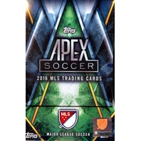 2016 Topps APEX MLS 8 Hobby Master Box Case (Sealed) (Major League Soccer)
