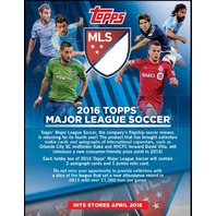 2016 Topps MLS Hobby 24 Pack Box (Factory Sealed) (Major League Soccer)
